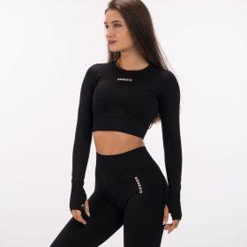 черна-дамска-блуза-luxe